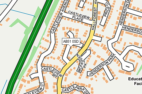 Map of DEEVEK LTD at local scale