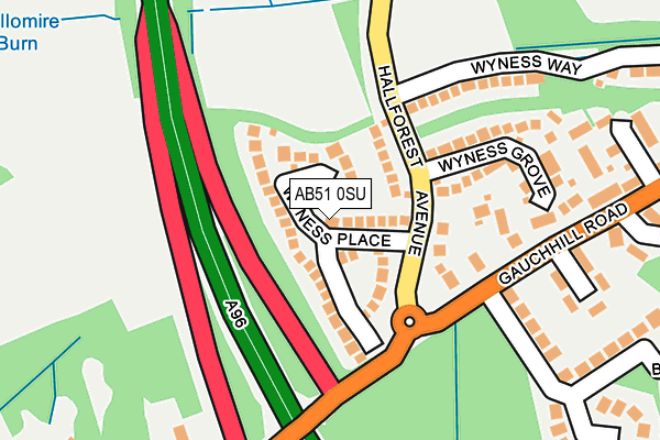 Map of DHCH ENGINEERING LTD at local scale