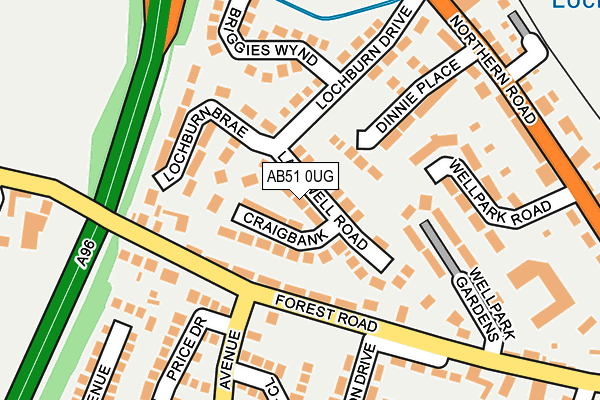 Map of BURNWOOD CONSULTING LTD at local scale