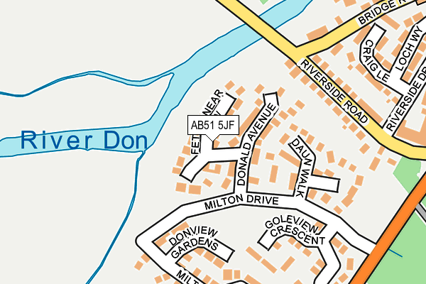 Map of ROBERTSON JOINERY LIMITED at local scale