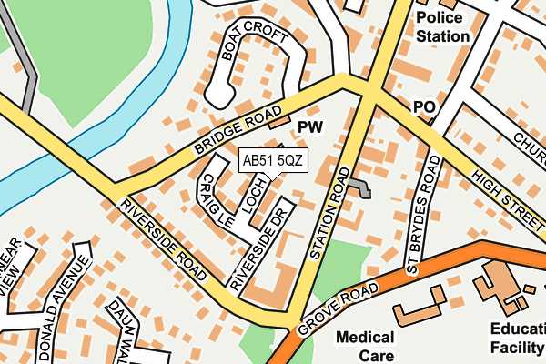 Map of TKL DIRECT LTD at local scale