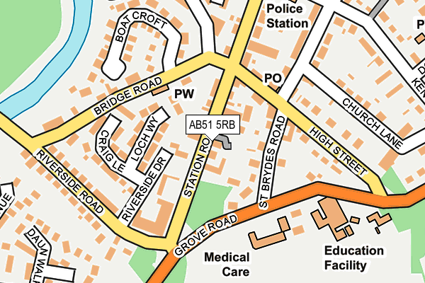Map of B INVOLVED LTD at local scale