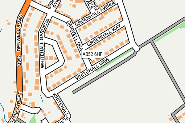 Map of MATSCO SERVICES LTD at local scale
