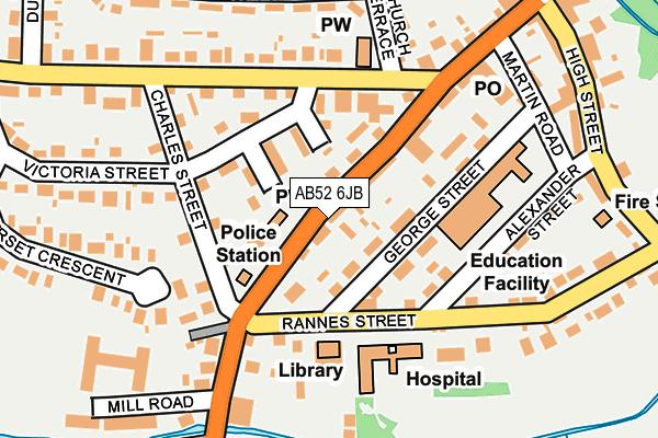 Map of WILLIAM DUGUID LTD at local scale