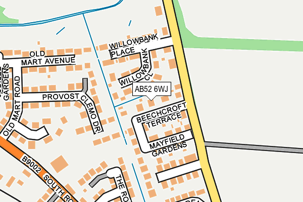 Map of ARTICFERN LIMITED at local scale