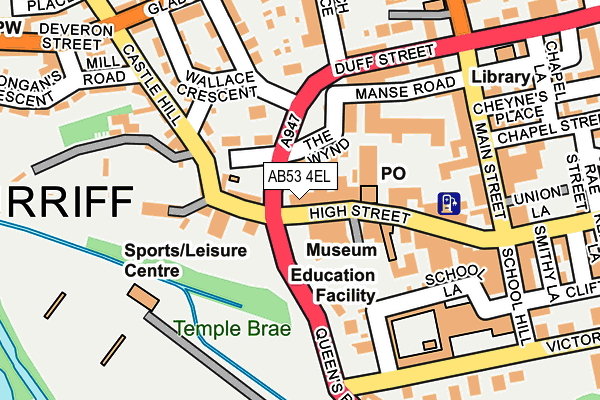 Map of BAYFORD GREEN LTD at local scale