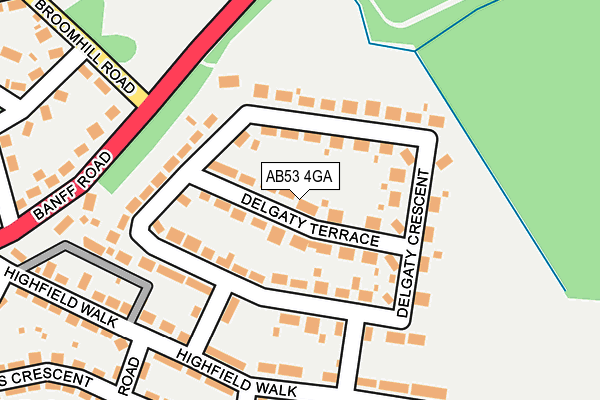 Map of LET US DARE LTD at local scale
