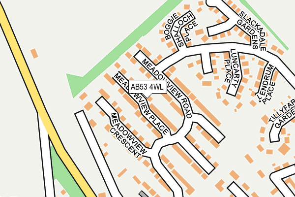 Map of D CRUICKSHANK JOINERY LTD at local scale