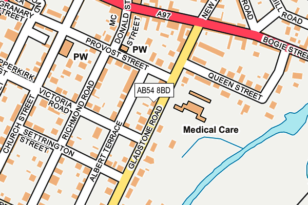 Map of CLOSE WELDING SERVICES LIMITED at local scale