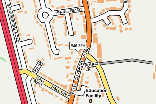 B46 3EH map - OS OpenMap – Local (Ordnance Survey)