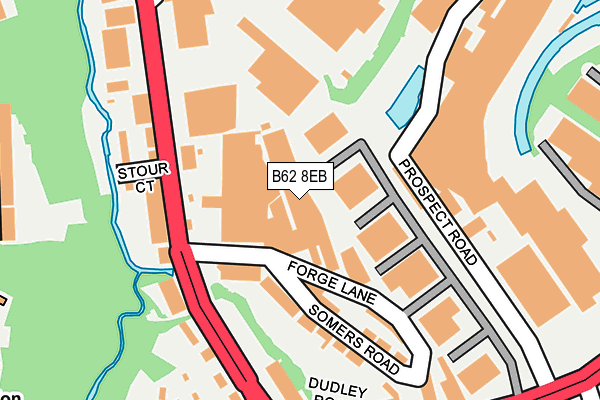Map of SOLEY CUSTOMS LTD at local scale