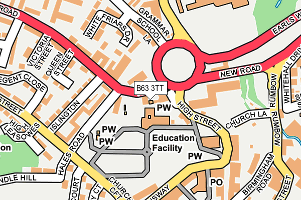 Map of STANLEY FARM ENTERPRISES LLP at local scale