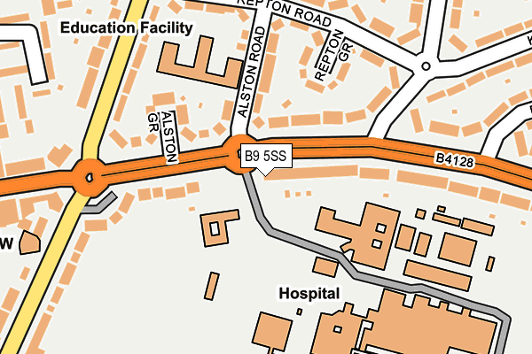 Sexual health clinic birmingham heartlands hospital map