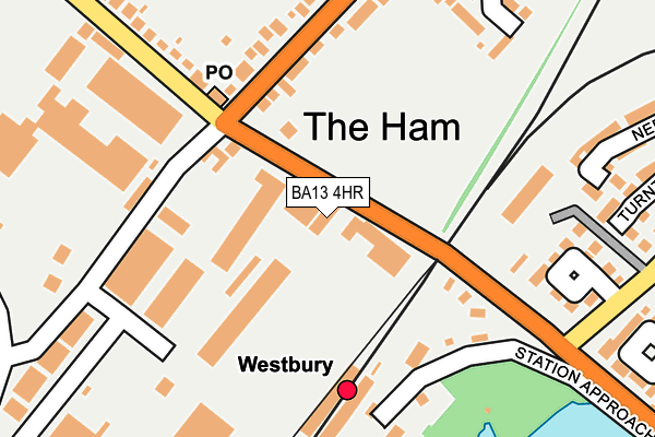 Map of HEATH & WILTSHIRE SECURITY LTD at local scale