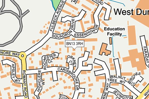 BN13 3EU maps, stats, and open data