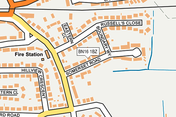 Map of ADFIRE DIGITAL LTD at local scale