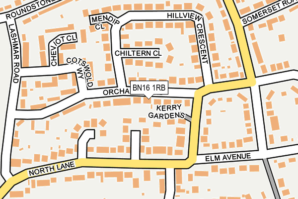 Map of SUSSEX PHYSIO FITNESS LTD. at local scale