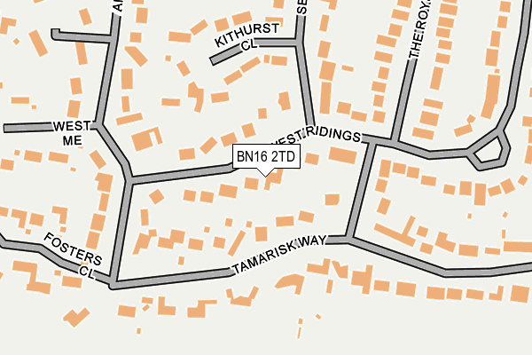 Map of MIRAVISTA TRAVEL LIMITED at local scale
