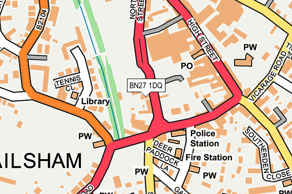 Map of 18 SELWYN ROAD LIMITED at local scale
