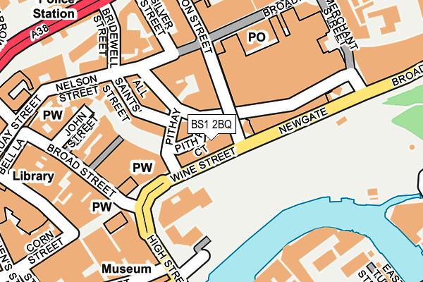 BS1 2BQ map - OS OpenMap – Local (Ordnance Survey)