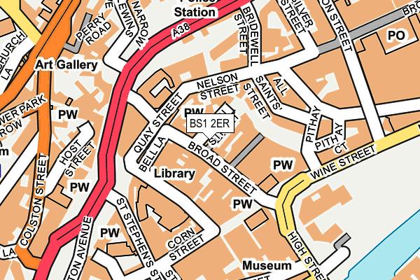 BS1 2ER map - OS OpenMap – Local (Ordnance Survey)