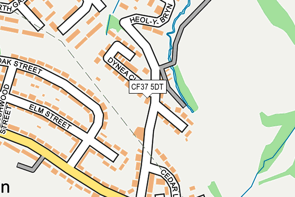 CF37 5DT maps, stats, and open data