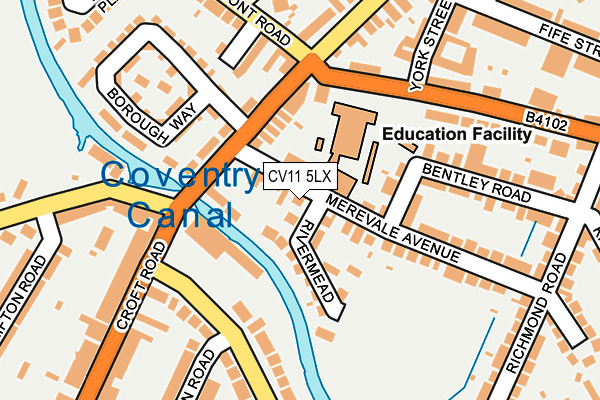 Cv11 5lx Maps Stats And Open Data