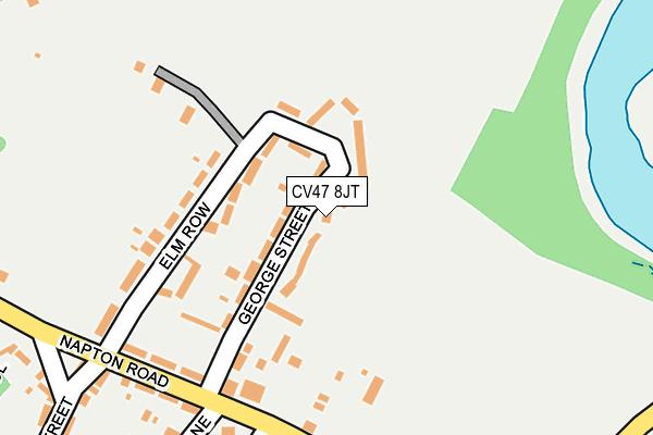 CV47 8JT map - OS OpenMap – Local (Ordnance Survey)