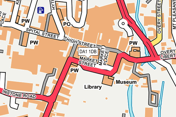 Map of EASY MOVE LIMITED at local scale