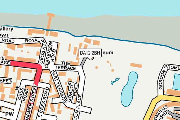 DA12 2BH map - OS OpenMap – Local (Ordnance Survey)