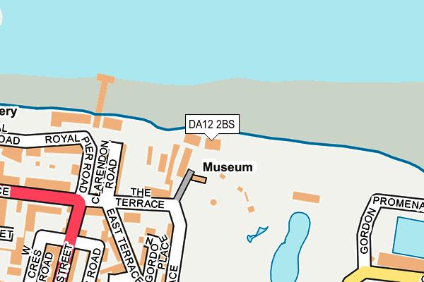 DA12 2BS map - OS OpenMap – Local (Ordnance Survey)