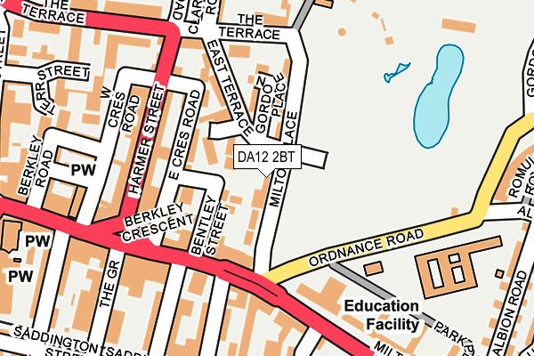 DA12 2BT map - OS OpenMap – Local (Ordnance Survey)