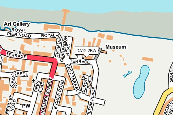 DA12 2BW map - OS OpenMap – Local (Ordnance Survey)