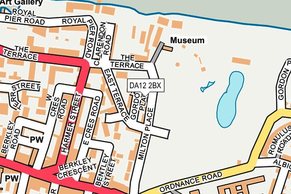 DA12 2BX map - OS OpenMap – Local (Ordnance Survey)