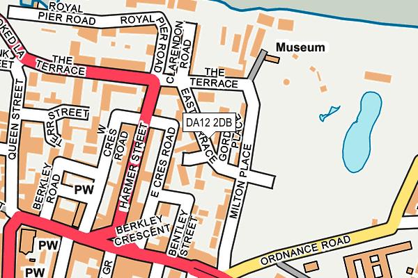 DA12 2DB map - OS OpenMap – Local (Ordnance Survey)