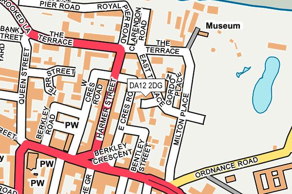 DA12 2DG map - OS OpenMap – Local (Ordnance Survey)