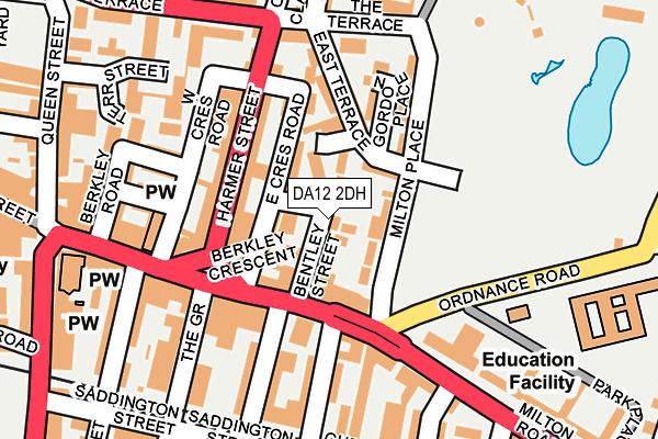 DA12 2DH map - OS OpenMap – Local (Ordnance Survey)