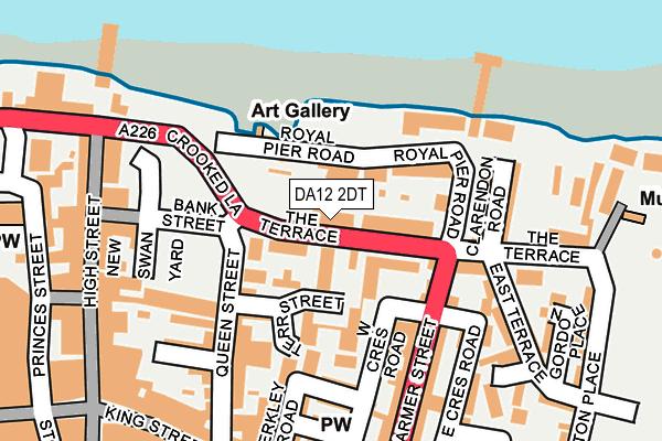DA12 2DT map - OS OpenMap – Local (Ordnance Survey)