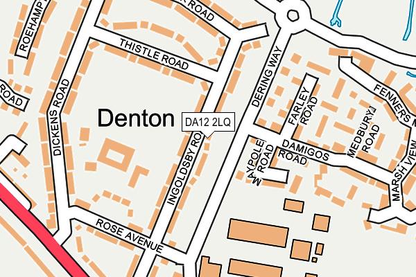 DA12 2LQ map - OS OpenMap – Local (Ordnance Survey)