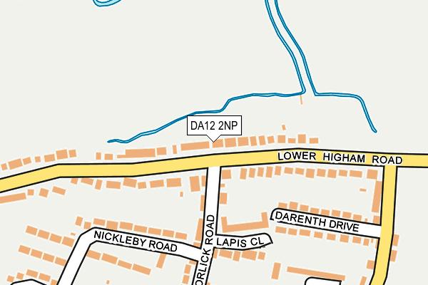 DA12 2NP map - OS OpenMap – Local (Ordnance Survey)