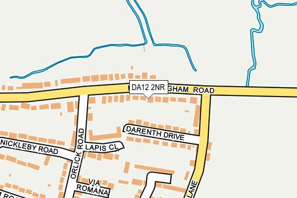 DA12 2NR map - OS OpenMap – Local (Ordnance Survey)
