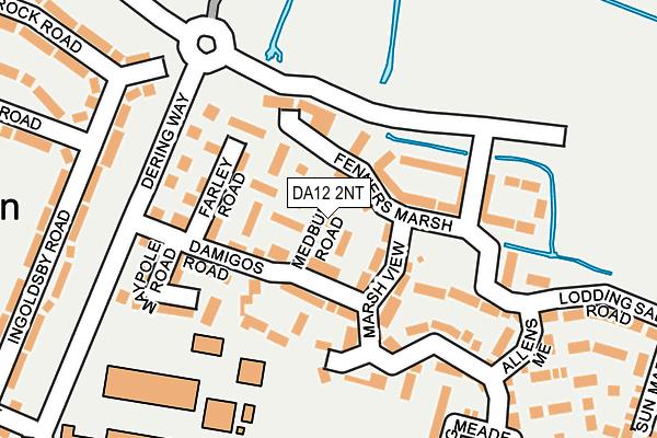 DA12 2NT map - OS OpenMap – Local (Ordnance Survey)