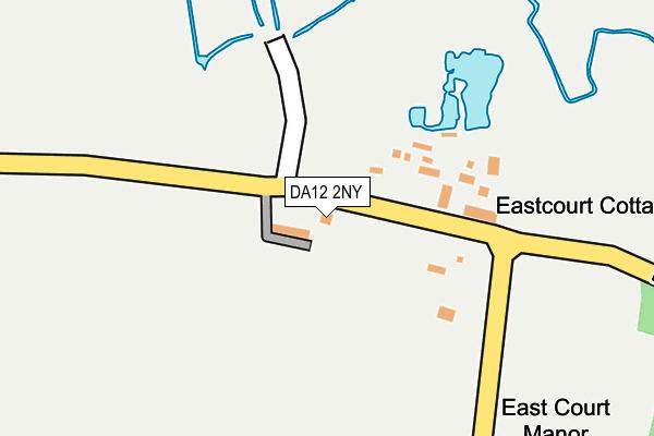 DA12 2NY map - OS OpenMap – Local (Ordnance Survey)