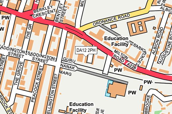 DA12 2PH map - OS OpenMap – Local (Ordnance Survey)