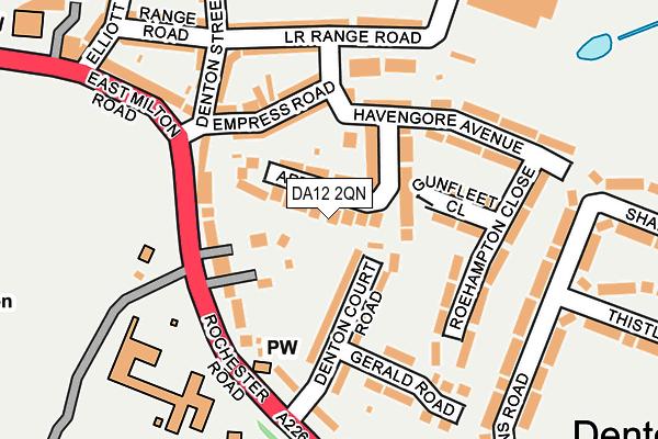 DA12 2QN map - OS OpenMap – Local (Ordnance Survey)