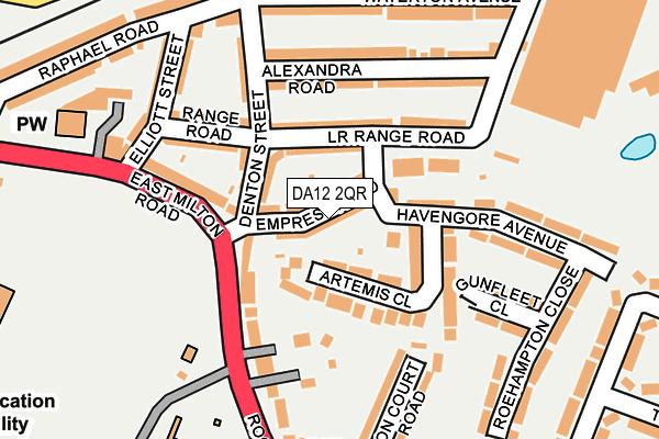 DA12 2QR map - OS OpenMap – Local (Ordnance Survey)