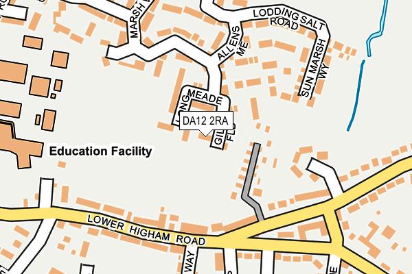 DA12 2RA map - OS OpenMap – Local (Ordnance Survey)