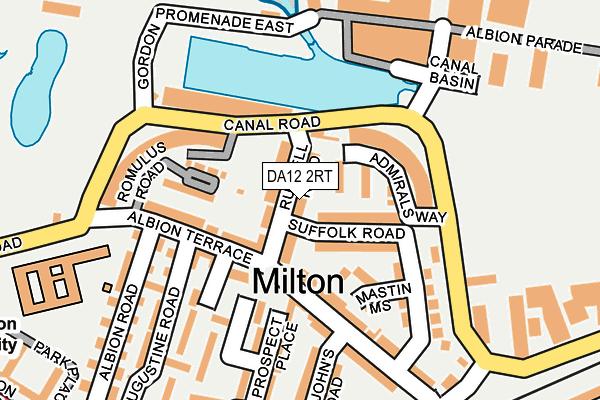 DA12 2RT map - OS OpenMap – Local (Ordnance Survey)