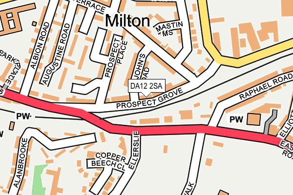 DA12 2SA map - OS OpenMap – Local (Ordnance Survey)