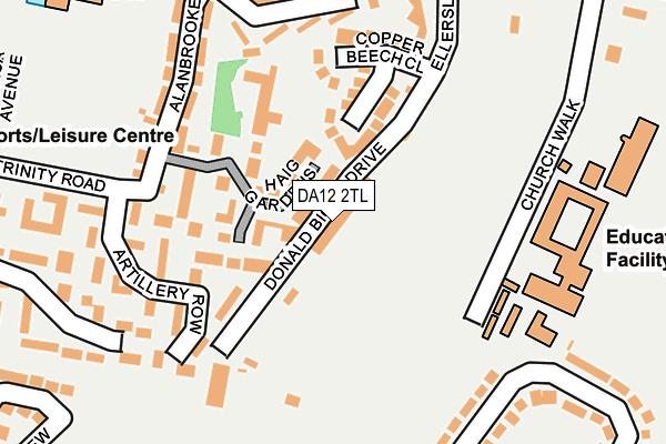 DA12 2TL map - OS OpenMap – Local (Ordnance Survey)